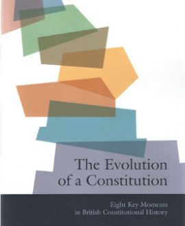 The Evolution of a Constitution