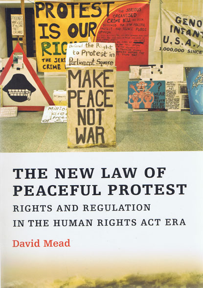 The New Law of Peaceful Protest