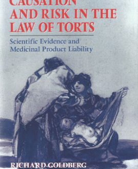 Causation and Risk in the Law of Torts