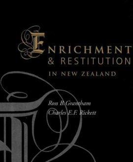 Enrichment and Restitution in New Zealand (Paperback)