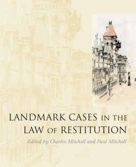 Landmark Cases in the Law of Restitution (Paperback)