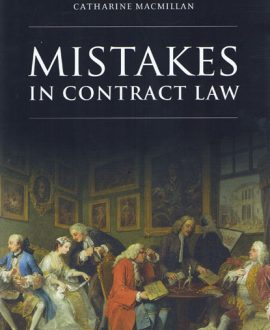 Mistakes in Contract Law (Paperback)
