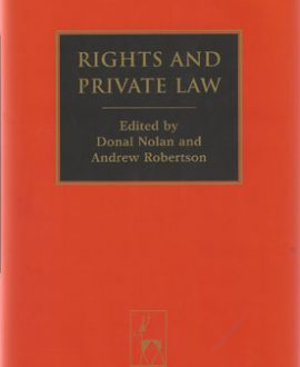 Rights and Private Law (Paperback)