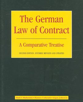 The German Law of Contract