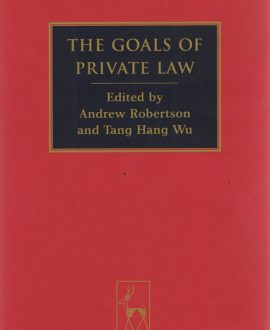 The Goals of Private Law,