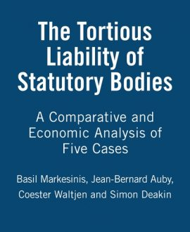 The Tortious Liability of Statutory Bodies