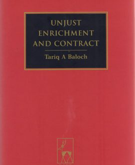 Unjust Enrichment and Contract