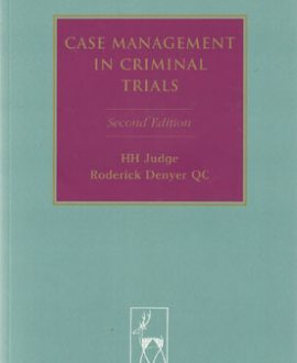 Case Management in Criminal Trials