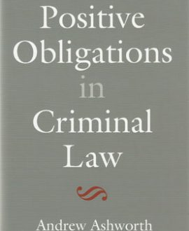 Positive Obligations in Criminal Law (Paperback)