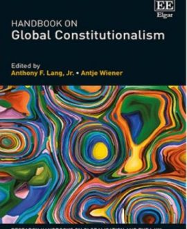 Handbook on Global Constitutionalism