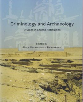 Criminology and Archaeology (Paperback)
