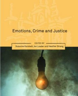 Emotions, Crime and Justice (Paperback)