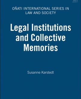 Legal Institutions and Collective Memories (Paperback)