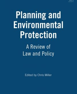 Planning and Environmental Protection
