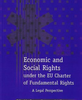 Economic and Social Rights under the EU Charter of Fundamental Rights (Paperback)
