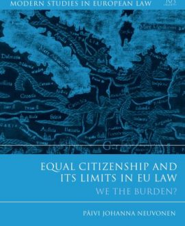 Equal Citizenship and Its Limits in EU Law