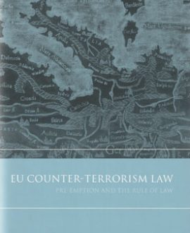 EU Counter-Terrorism Law (Paperback)