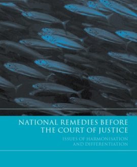 National Remedies Before the Court of Justice