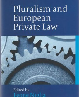 Pluralism and European Private Law