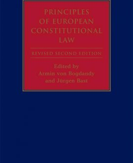 Principles of European Constitutional Law