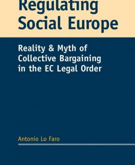 Regulating Social Europe