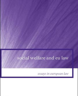 Social Welfare and EU Law