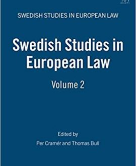 Swedish Studies in European Law - Vol 2