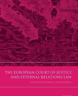 The European Court of Justice and External Relations Law (Paperback)