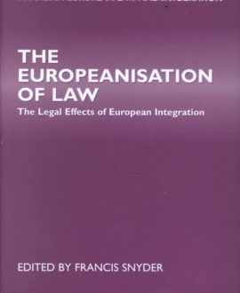 The Europeanisation of Law