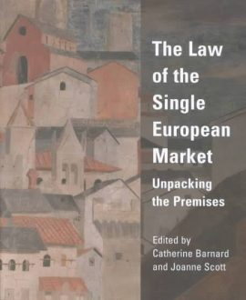 The Law of the Single European Market (Paperback)