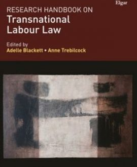 Research Handbook on Transnational Labour Law (Paperwork)