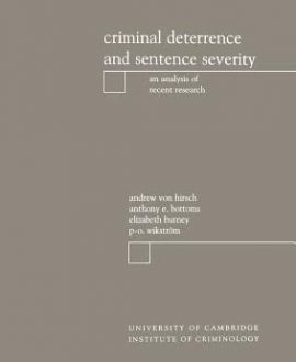 Criminal Deterrence and Sentencing Severity