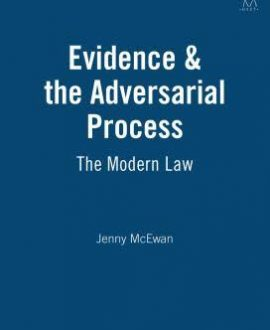 Evidence & the Adversarial Process