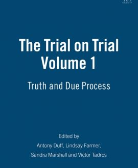 The Trial on Trial Vol 1