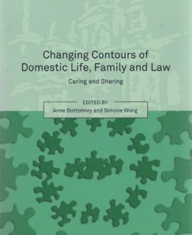 Changing Contours of Domestic Life, Family and Law (Paperback)