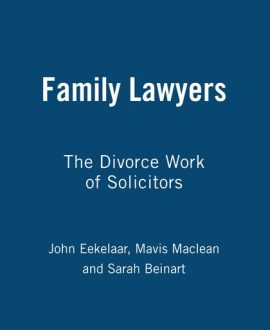 Family Lawyers (Paperback)