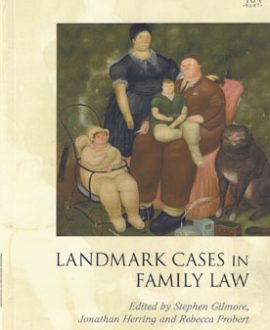 Landmark Cases in Family Law (Paperback)