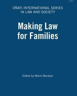 Making Law for Families (Paperback)