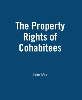 The Property Rights of Cohabitees