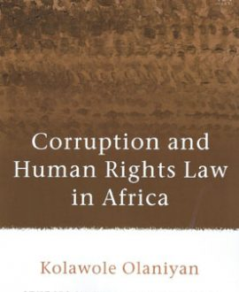 Corruption and Human Rights Law in Africa (Paperback)