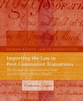 Importing the Law in Post-Communist Transitions