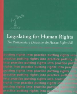 Legislating for Human Rights