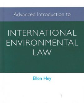 Advanced Introduction to International Environmental Law (Paperback)