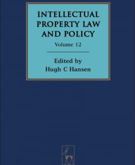 Intellectual Property Law and Policy Vol 12