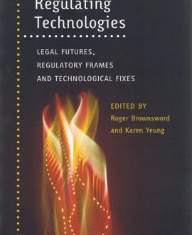 Regulating Technologies