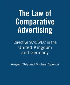 The Law of Comparative Advertising