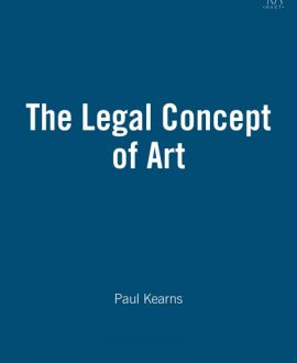 The Legal Concept of Art,