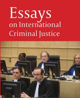 Essays on International Criminal Justice