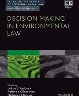 Decision Making in Environmental Law