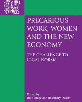 Precarious Work, Women, and the New Economy